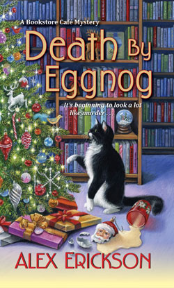 book cover Death by Eggnog