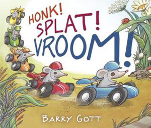 book cover Honk! Splat! Vroom!