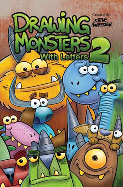 book cover Drawing Monsters with Letters