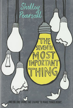 book cover - The Seventh Most Important thing