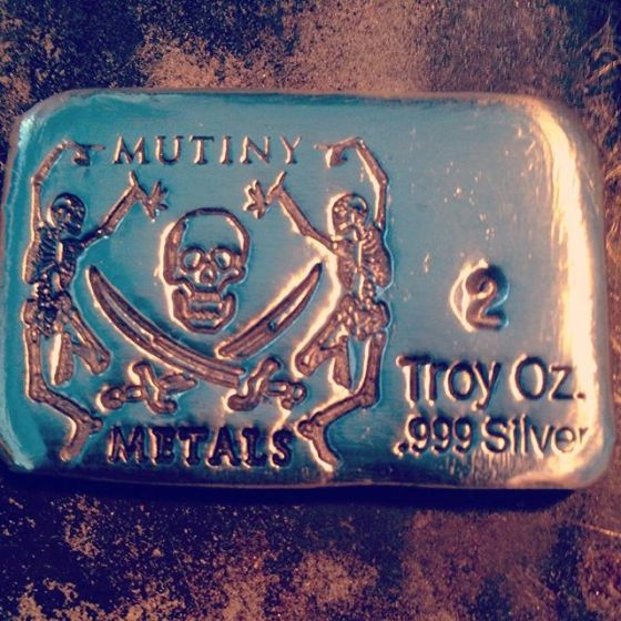 Mutiny Metals Silver Stamp Bar