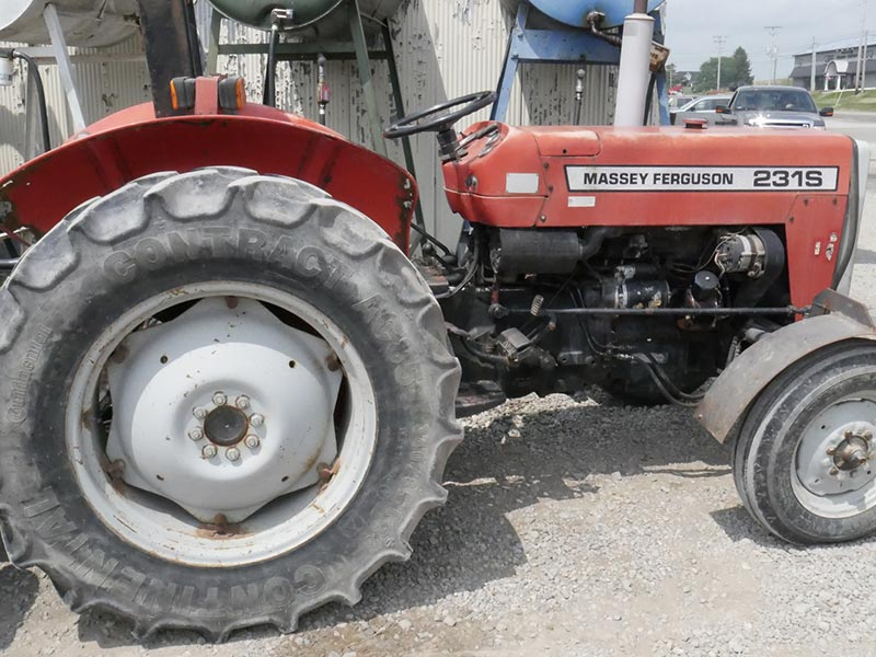Massey Ferguson Tractor For Rent