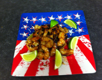 Grilled Shrimp from Buckeye Honda Foodie Friday