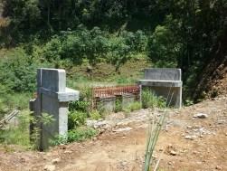 Abandonded bridge at Binangawan Falls