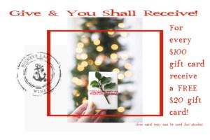 Christmas Gift Card Promo2019