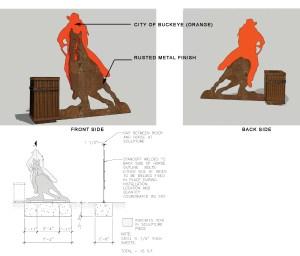 Buckeye Public Art - Barrel Racer
