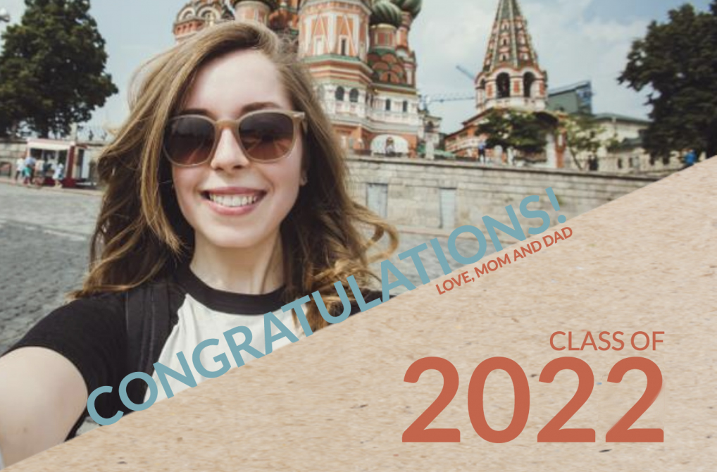 Class of 2022 Diagonal ad