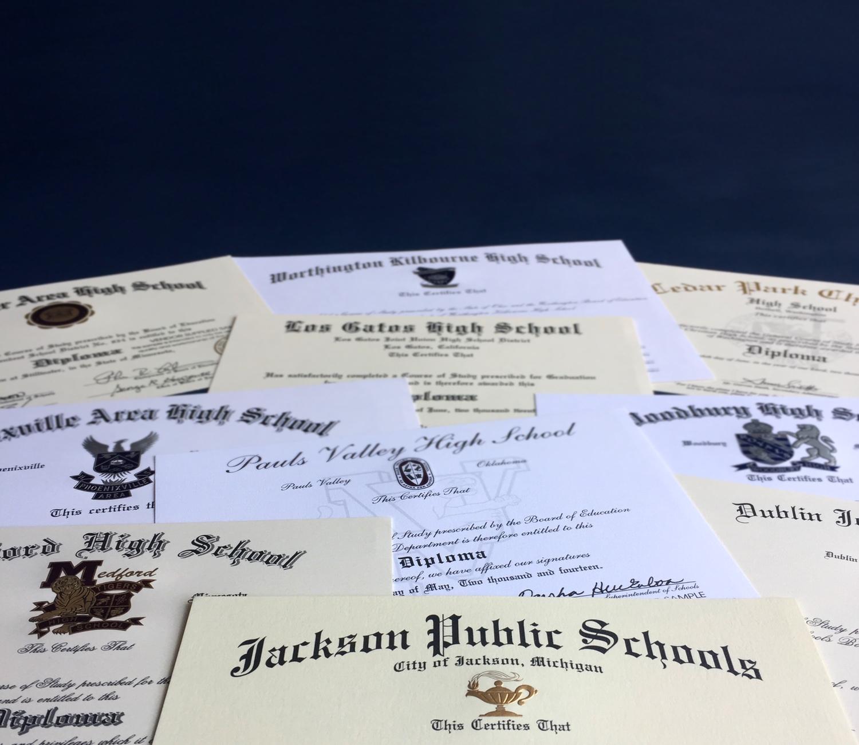 Diploma Spread