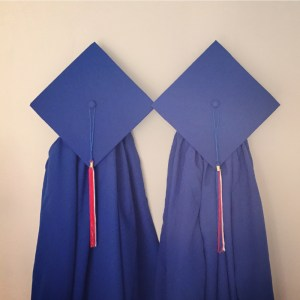Royal Blue Cap & Gown