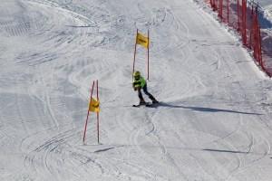 Downhill racing at buck hill