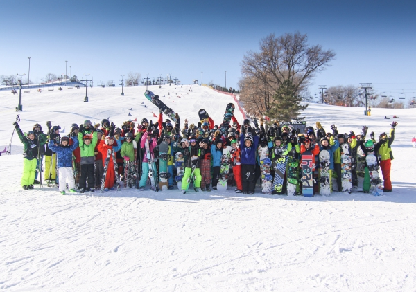 D-Team and X-Team at Buck Hill