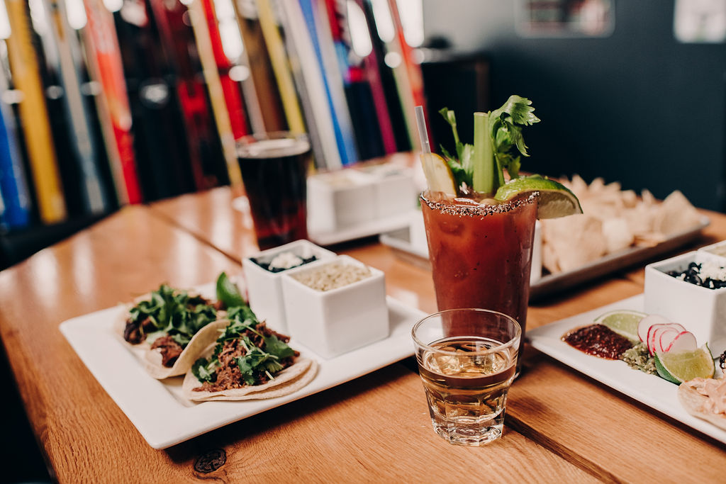 Bloody Mary and food