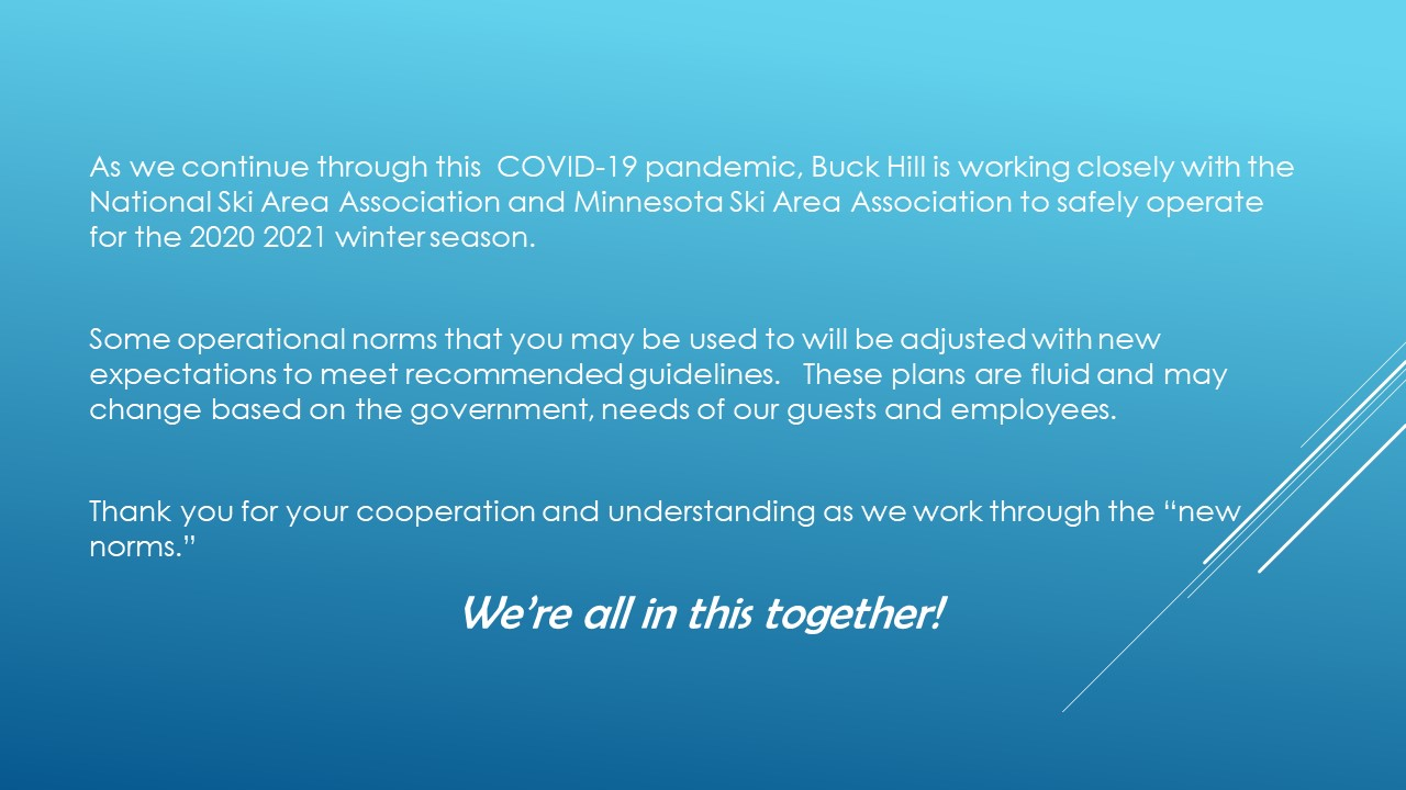 Buck Hill COVID-19 Policy Slide 2