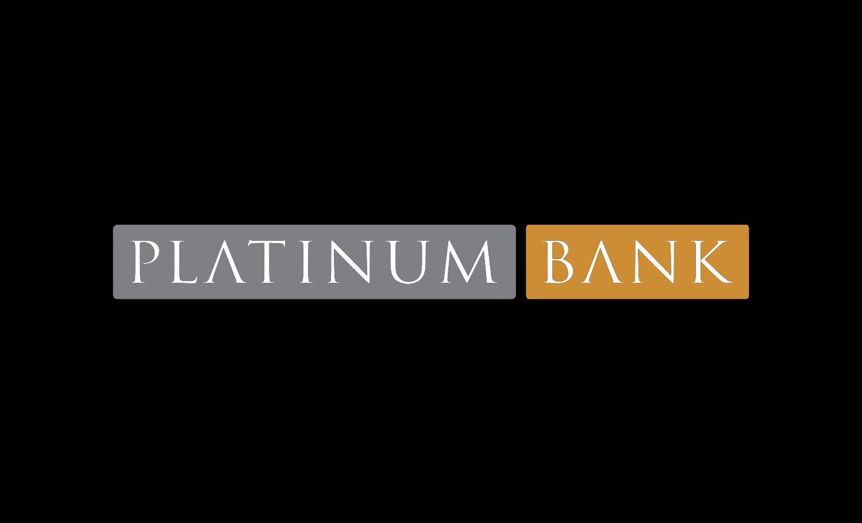 Platimun Bank Logo Block
