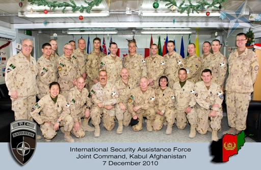 Canadian Troops IJC Group
