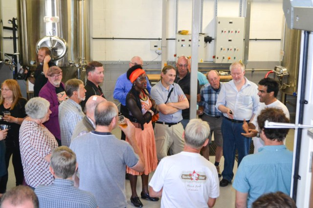 A tour of the BucksStar Brewery in Milton Keynes