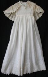 antique christening gown & cape www.buckinghamvintage.co.uk