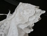 Sleeve detail antique christening gown from www.buckinghamvintage.co.uk