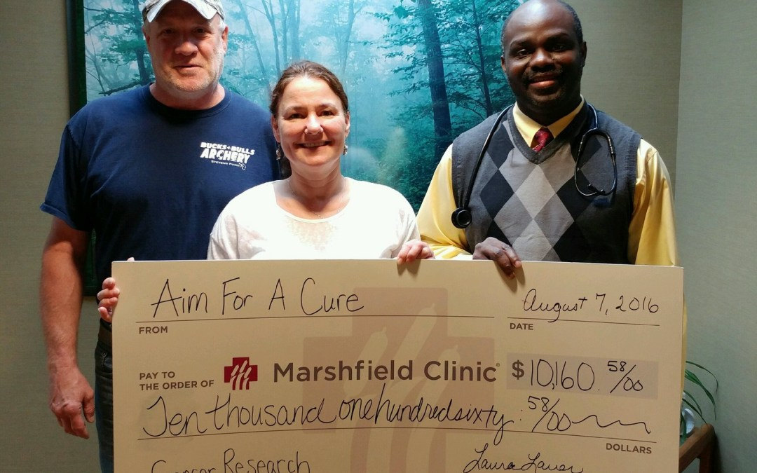Donation for Aim For A Cure.