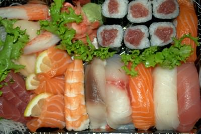 Sashimi, Sushi & Maki from Kira; photo by Emily Trostle