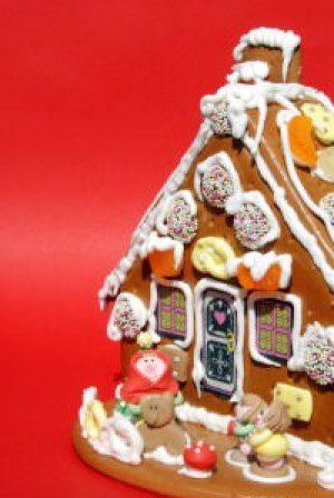 Gingerbread House, photo MSClipArt