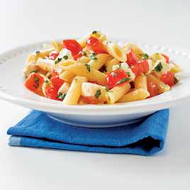 Pasta Caprese; photo courtesy Cooks Illustrated