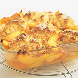 Peach Cobbler; photo by Cooks Illustrated