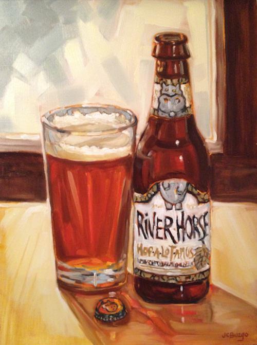 River Horse Hop-a-Lot-Amus Beer. Copyright Jean Childs Buzgo.