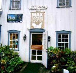 Max Hansen Carversville Grocery Store entrance