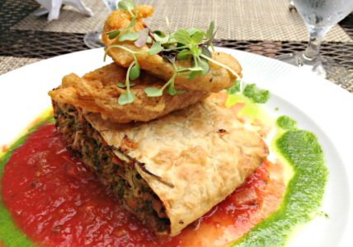 Vegetable Strudel; photo credit Lynne Goldman
