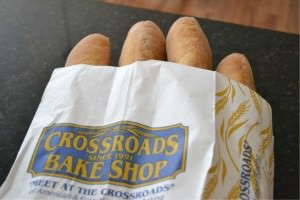Bread from Crossroads Bakery