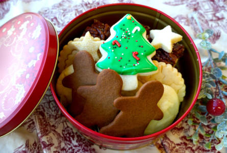 Cookie tin; photo by Blackbird Bakery