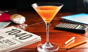 tax day martini