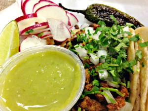 Tacos at La Mexicana