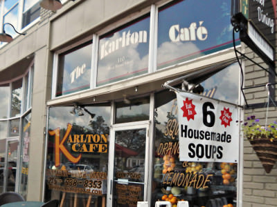 Karlton Cafe front
