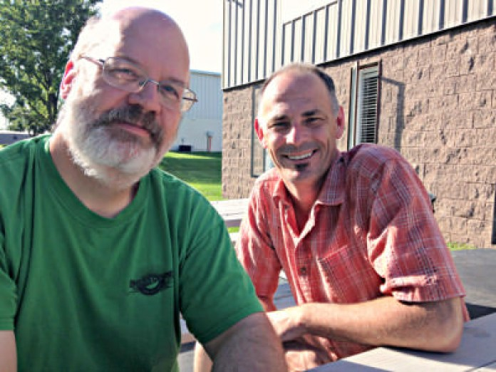 Andrew Knechel & Sean Tracy; photo credit Lynne Goldman
