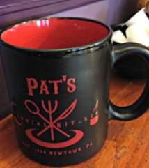 Pat's Colonial Kitchen mug