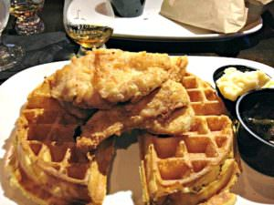 Churchville Inn_chicken and waffles