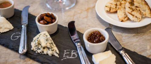 Golden Pheasant Inn cheese plate