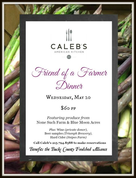 Calebs Friend of a Farmer Poster