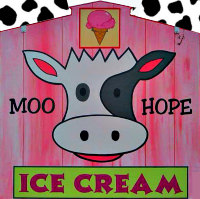 Moo Hope Ice Cream
