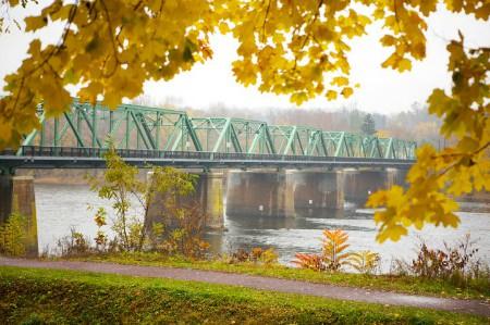 View from Centre Bridge Inn