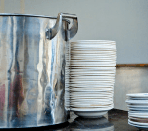 Pots and Plates, Bux-Mont Christian Church