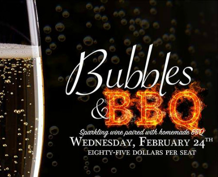 Bubbles & BBQ, Yardley Inn