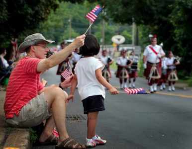 Fourth of July Parade, Bill Fraser, Staff Photographer w/the Intell