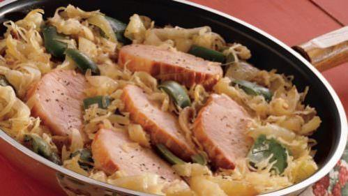 Pork & Sauerkraut, Photo Credit: Pillsbury