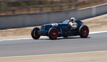 Vintage sports car, Monterey Historic Races, Laguna Seca CA