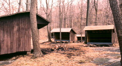 Alpine Scout Reservation Buckskinlodge Camping
