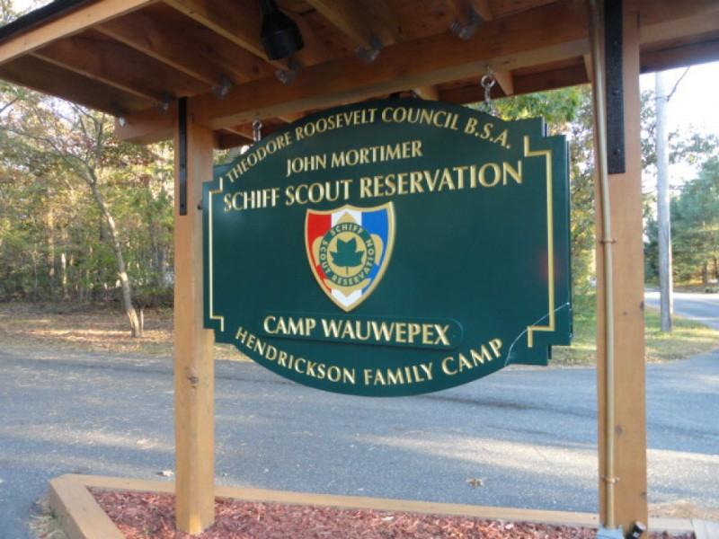 Schiff Scout Reservation Buckskinlodge Camping