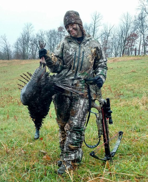 turkey crossbow hunting
